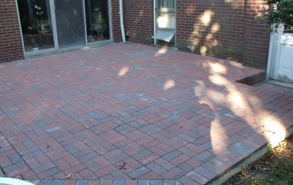 Brick Pavers Patio